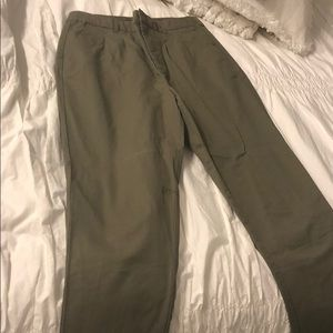 Army green trouser